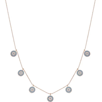 Cybele Multi Charm Necklace - Evil Eye Collective