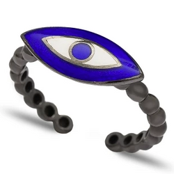 Tessa Adjustable Ring - Evil Eye Collective