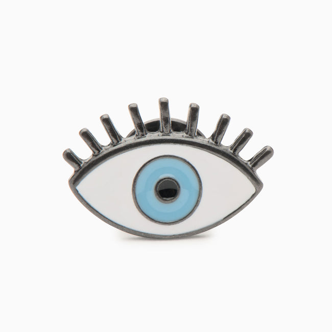 All Knowing Evil Eye Enamel Pin - Evil Eye Collective