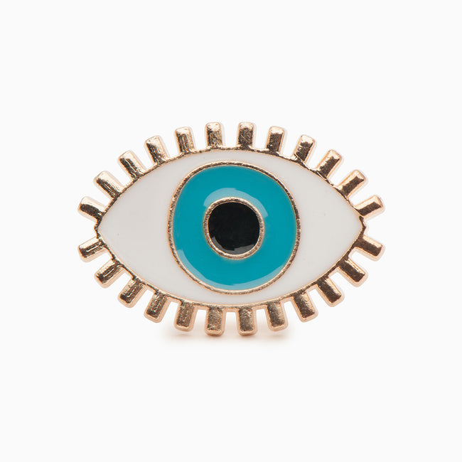 All Seeing Evil Eye Enamel Pin - Evil Eye Collective