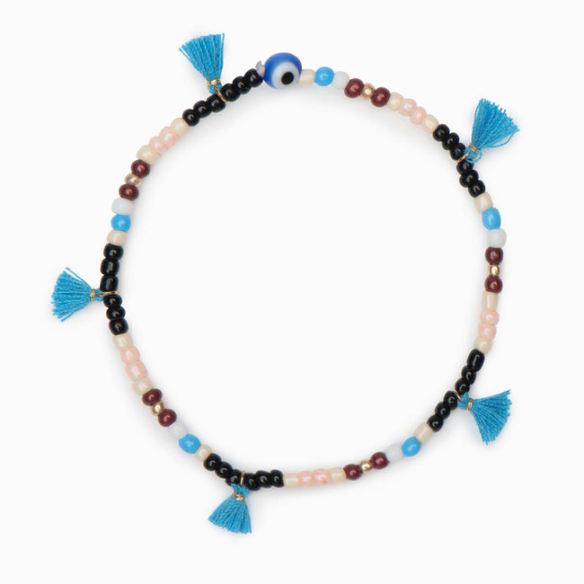 Sia Beaded Bracelet - Evil Eye Collective