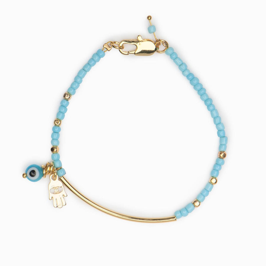 Mazi Beaded Bracelet - Evil Eye Collective