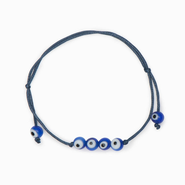 Nisia Beaded Bracelet - Evil Eye Collective