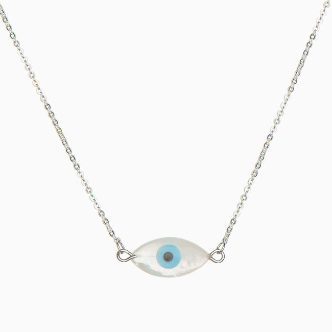 Hydra Sterling Silver Necklace - Evil Eye Collective