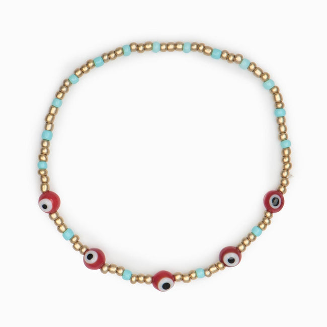 Archea Beaded Bracelet - Evil Eye Collective