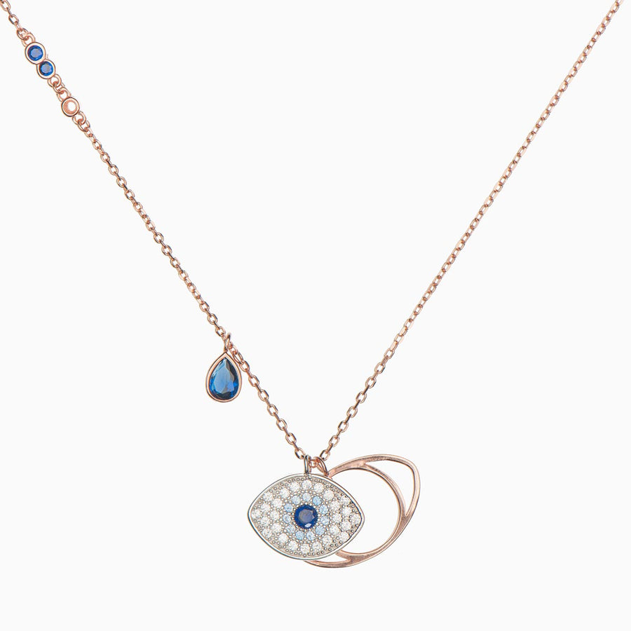 Peggy Sterling Silver Necklace - Evil Eye Collective