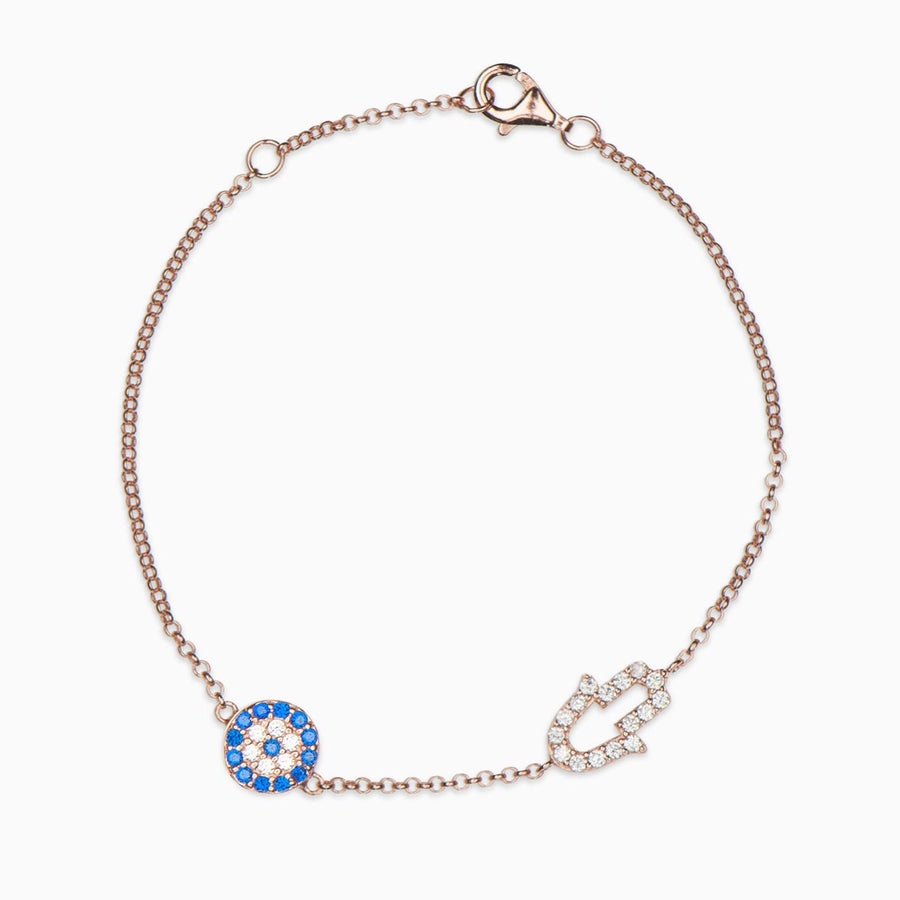 Andrea Sterling Silver Bracelet - Evil Eye Collective