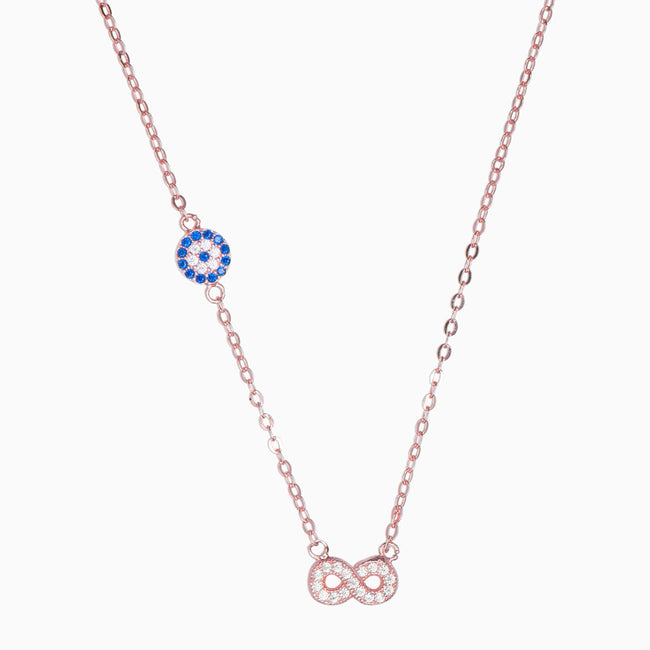 Eva Sterling Silver Necklace - Evil Eye Collective