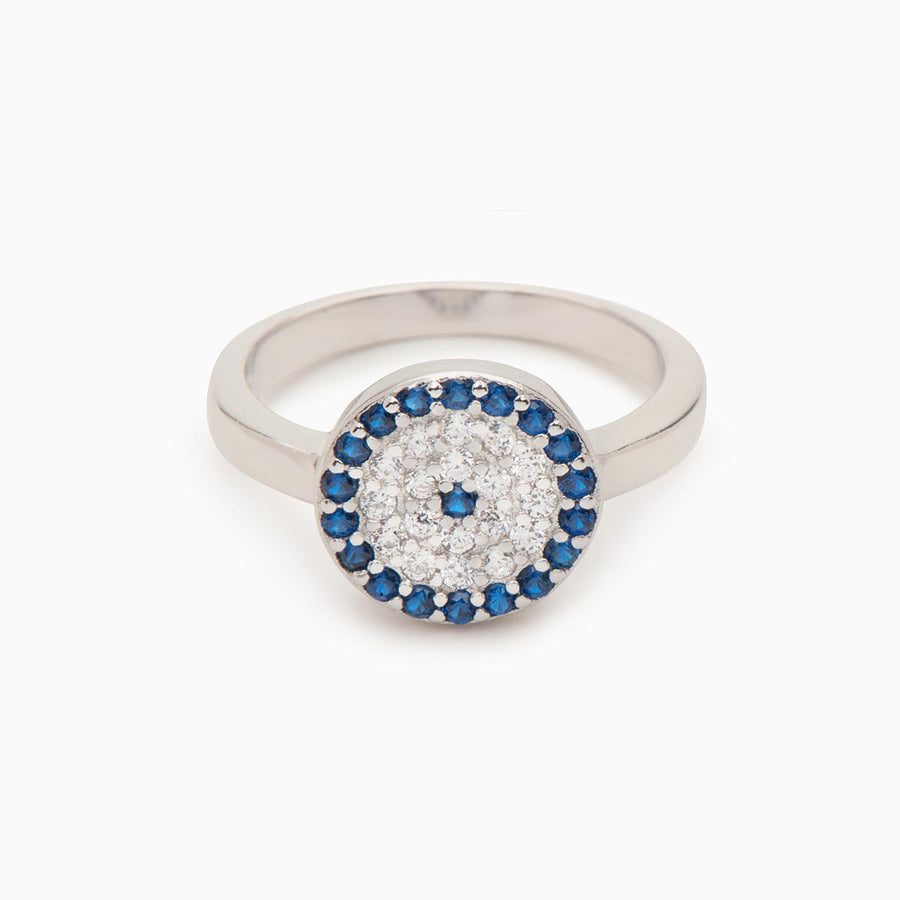 Joanna Sterling Silver Ring - Evil Eye Collective