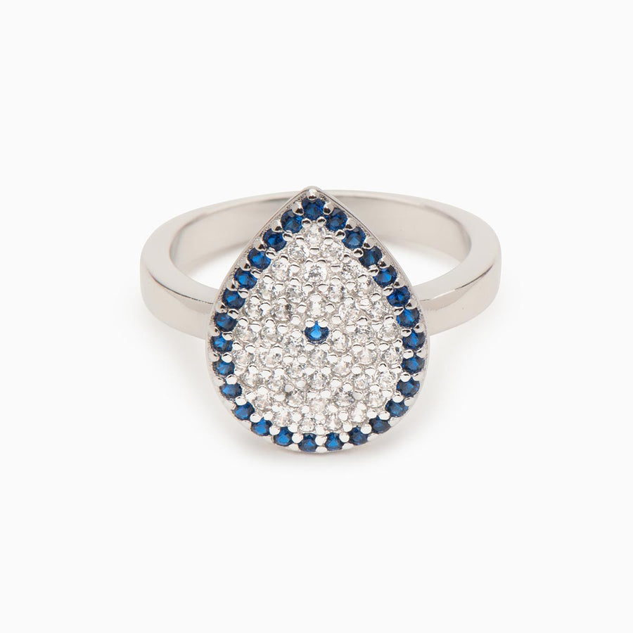 Bess Sterling Silver Ring - Evil Eye Collective