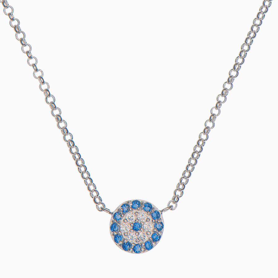 Jenna Sterling Silver Necklace - Evil Eye Collective