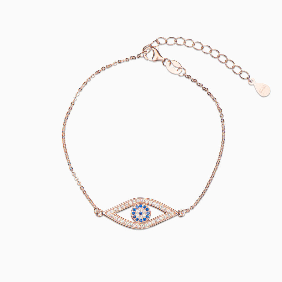 Nasia Sterling Silver Bracelet - Evil Eye Collective