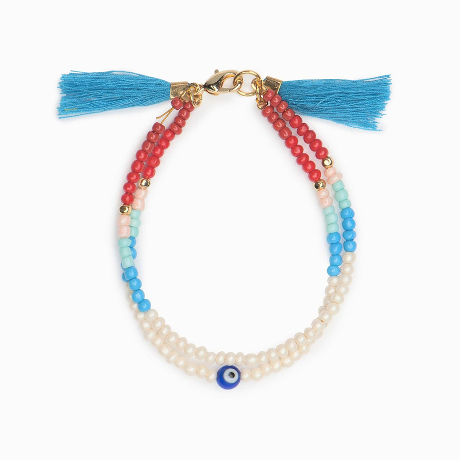 Anna Beaded Bracelet - Evil Eye Collective
