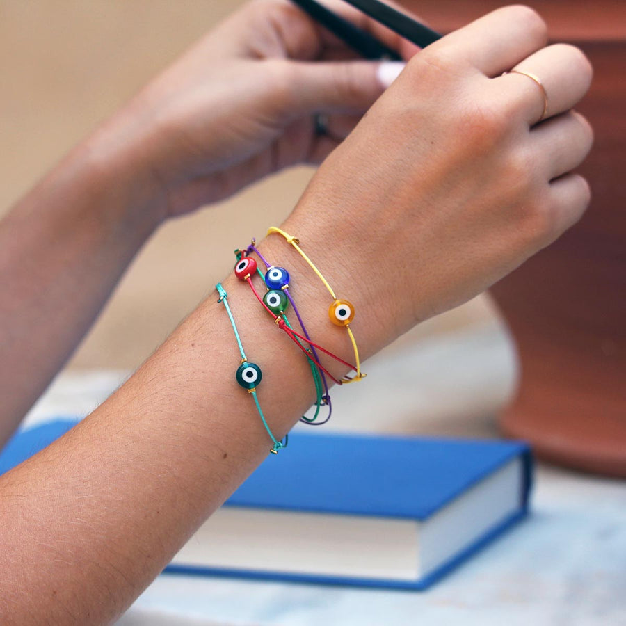 Nisi Simple Evil Eye Bracelet - Evil Eye Collective
