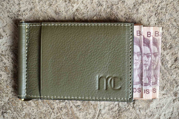 Money Clip Verde