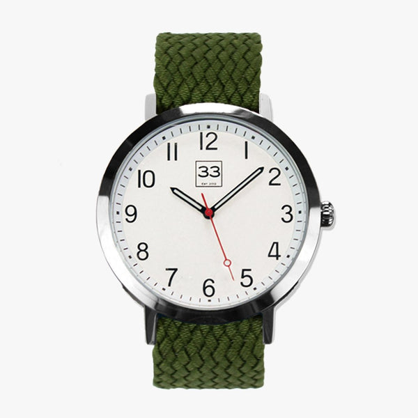 "Reloj ""Time Machine"" correa verde"