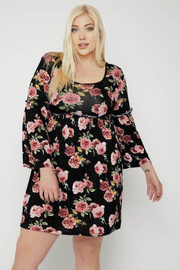 Make A Statement Floral Print Dress