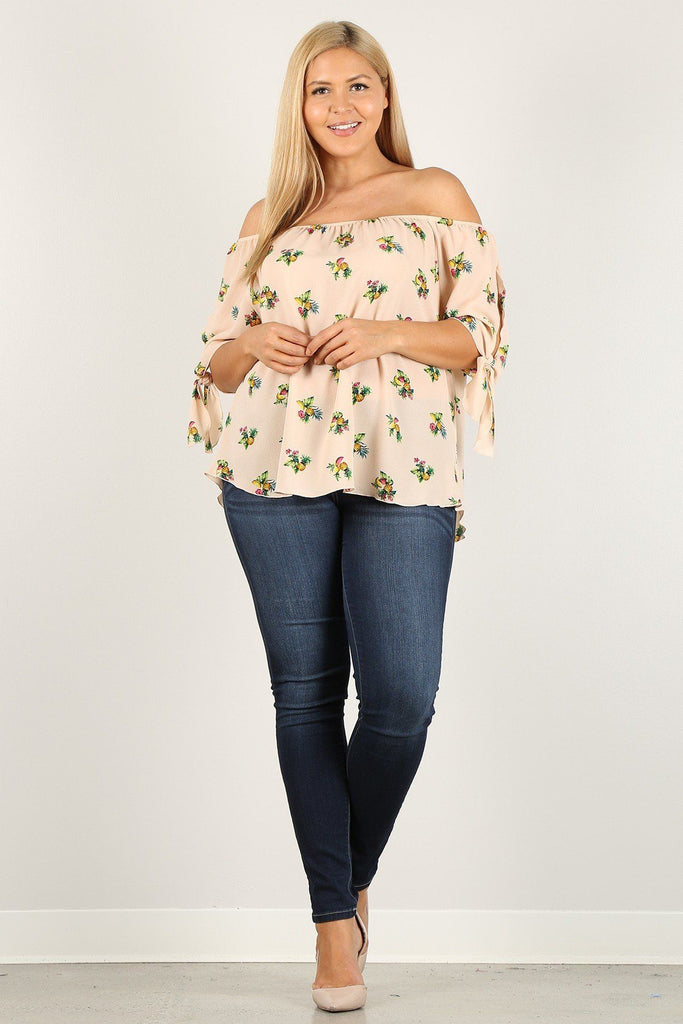 Canberra Plus Size Floral Top