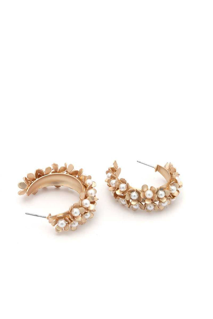 Star Girl Chunky Flower Earring
