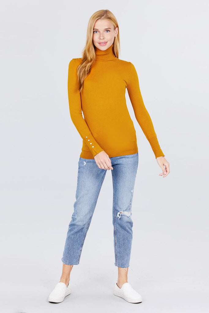 Pillow Talk Long Sleeve Sweater