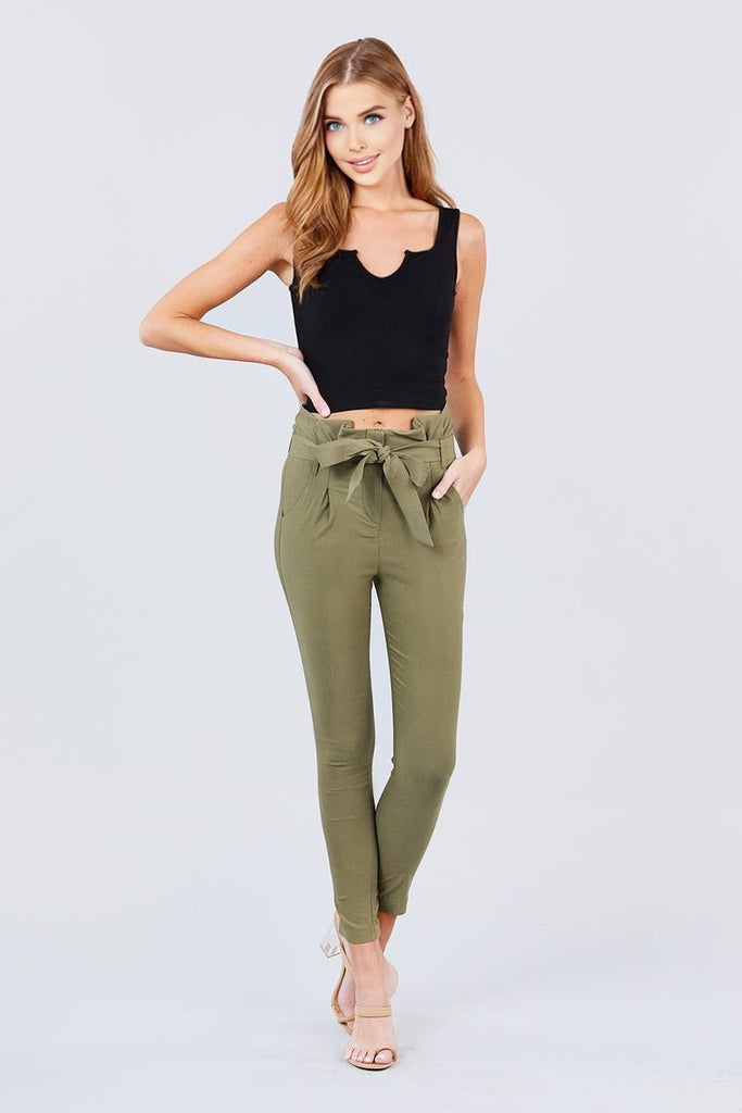 Lean On Me High Waisted Pants