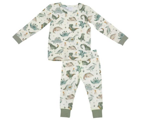 Angel Dear Crayon Dinosaur Two Piece PJs