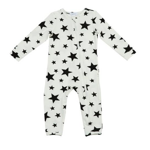 Angel Dear Stars Zipper Romper