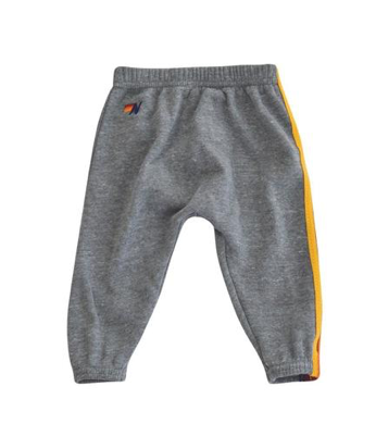 Aviator Nation 5 Stripe Sweatpants in Grey