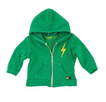 Aviator Nation Bolt Stitch Zip Up Hoodie