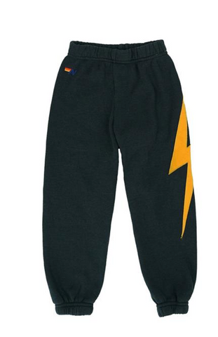Aviator Nation Kids Lightning Bolt Sweatpants