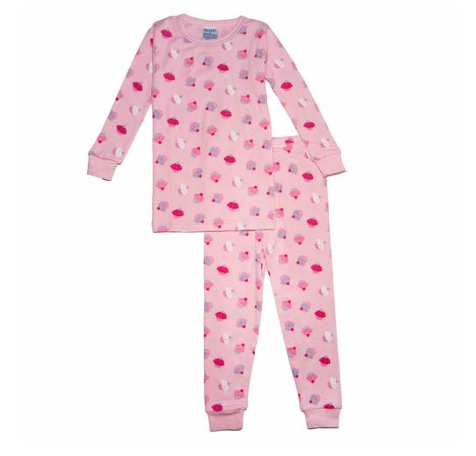 Baby Steps Cupcakes Long Sleeve PJs