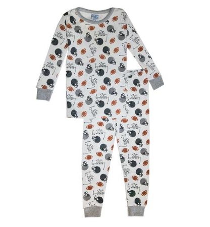 Baby Steps Football Two Piece Pajamas