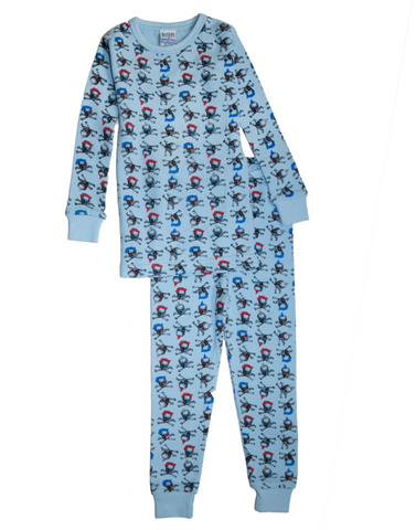 Baby Steps' Skull Thermal PJs