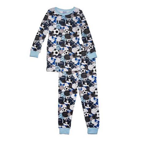 Baby Steps Sports Long Sleeve PJs