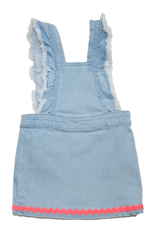 BillieBlush Denim Overall Dress