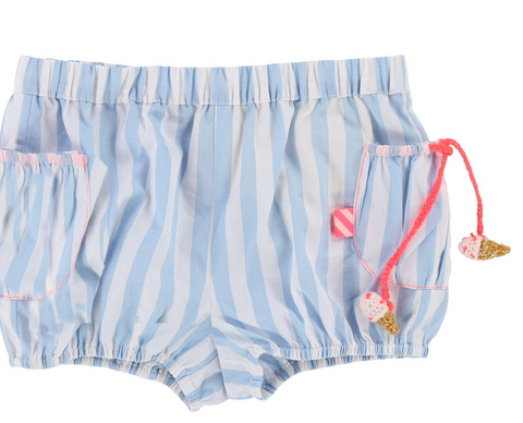 Billieblush Stripe Ice Cream Shorts