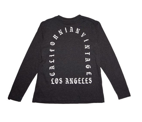 Californian Vintage Los Angeles Long Sleeve Tshirt
