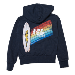 california vintage surf rider zip up hoodie