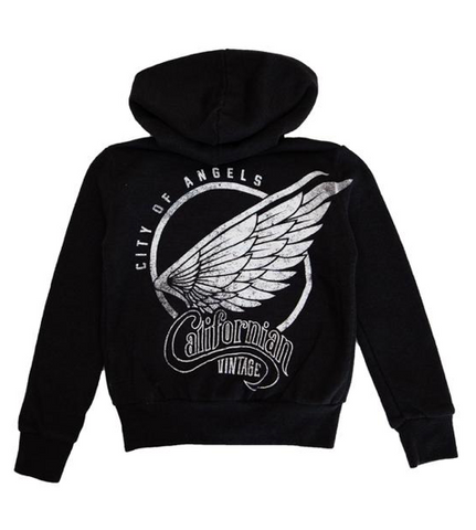 Californian Vintage City of Angels Zip Up Hoodie