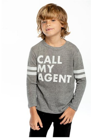 Chaser Call My Agent Long Sleeve Top (Preorder)