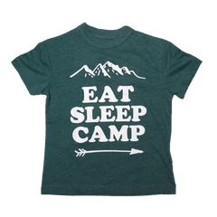 chaser eat sleep camp tshirt