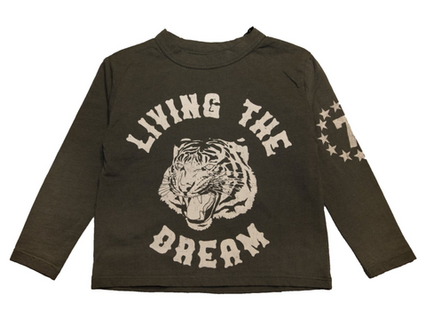 Chaser - Living The Dream Tiger Long Sleeve Tshirt
