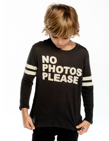 Chaser No Photos Please Long Sleeve Top
