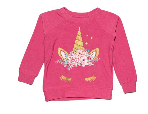 Chaser Unicorn Crown Soft & Cozy Sweatshirt