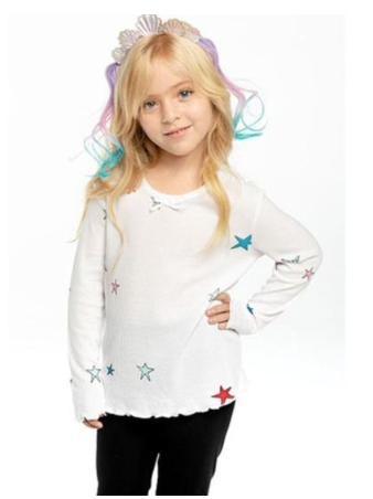 Chaser Stars Thermal Long Sleeve Top (Preorder)