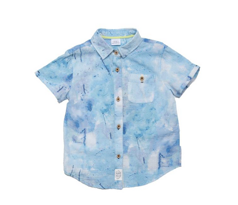 Egg New York Tie Dye Button Down Top (Preorder)