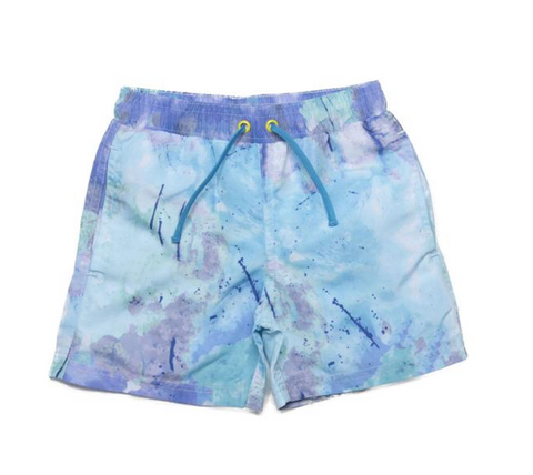 Egg New York Tristan Tie Dye Swim Trunks (Preorder)