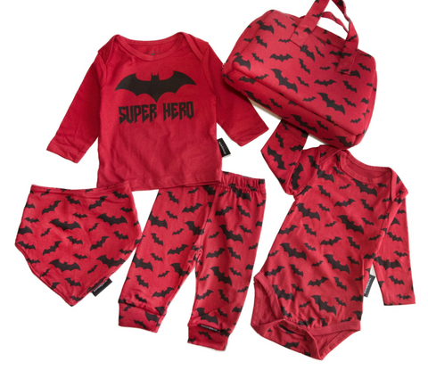 Elevenparis Batman Superhero Baby Set