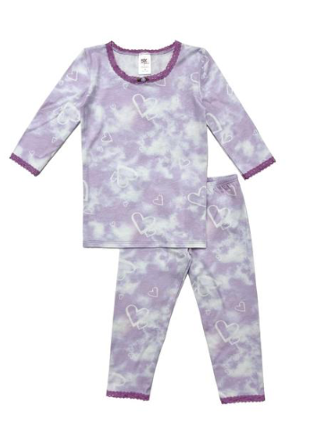 Esme Hearts and Clouds Long Sleeve PJs