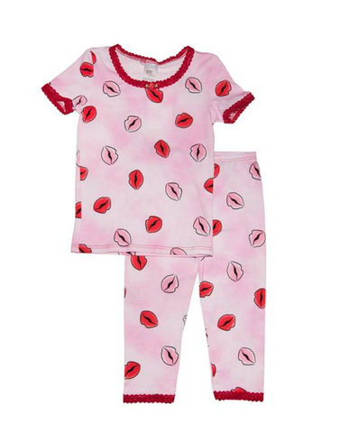 Esme Kisses Short Sleeve PJs